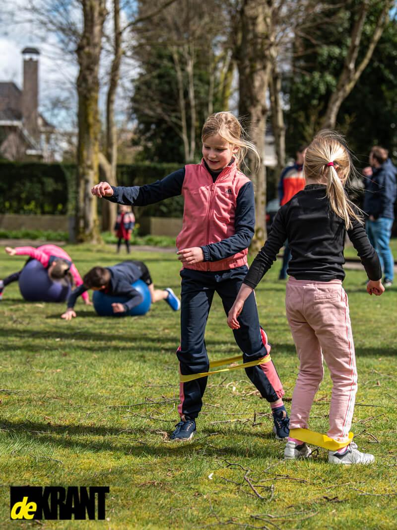 sporten kinderen bootcamp voor kids in peize